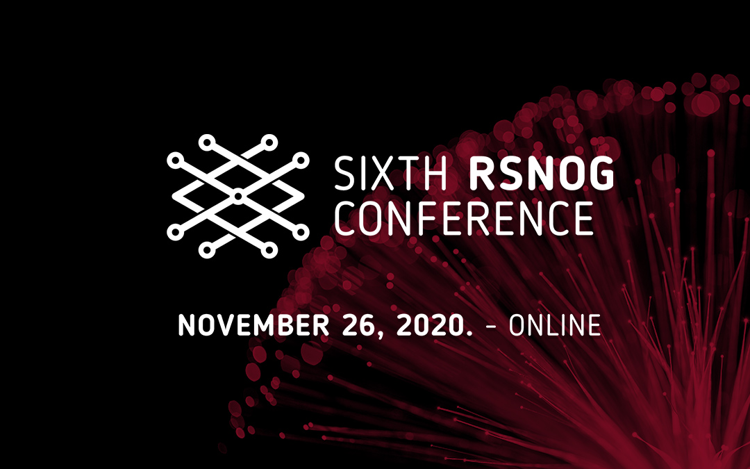 Note the date – the sixth RSNOG November 26 online